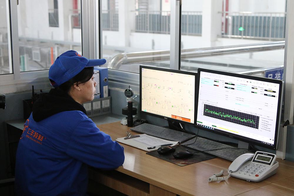 《国家发展研究》走进山东仁丰特材,与董事长宋佃凤共话创新发展(图5)
